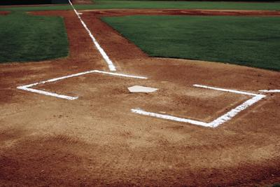 STOCK baseball diamond