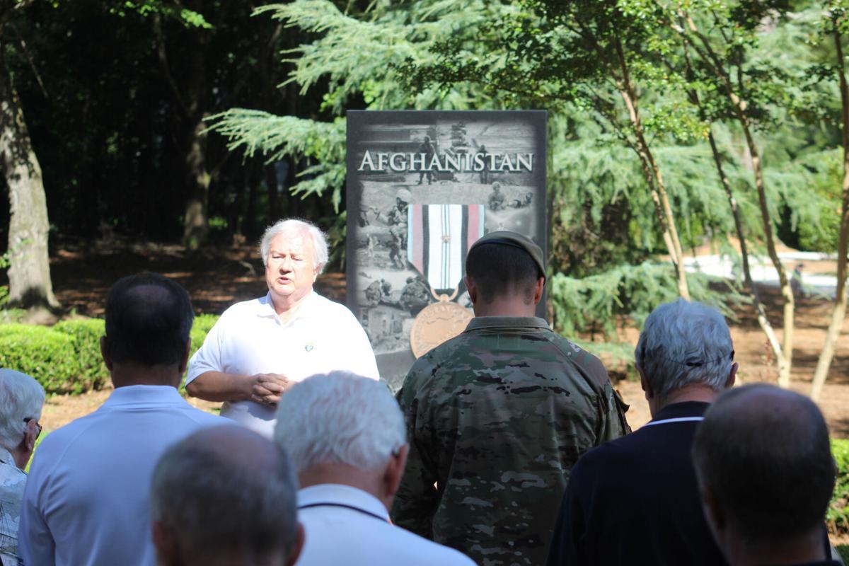 Johns Creek veterans Afghanistan memorial dedication ceremony