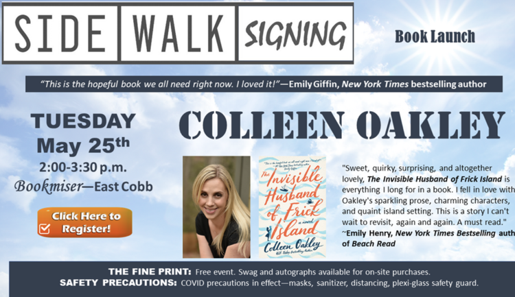 Colleen Oakley at Bookmiser