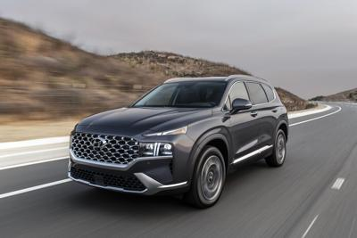 Revamped Santa Fe is a standout in the midsized crowd
