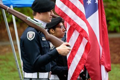 Memorial Day color guard