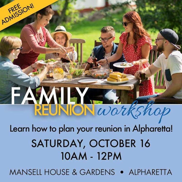 Free Family Reunion Workshop