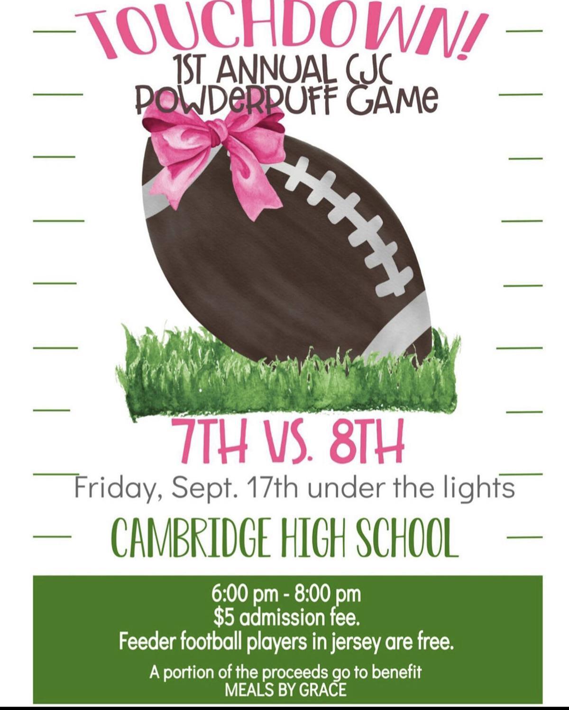 1st annual Cambridge Junior Cheer Powderpuff game