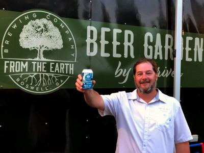 Tim Stevens at From The Earth Brewing Company