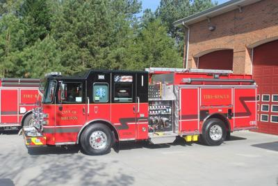 Milton Fire engine