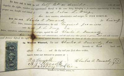 1898 Dunwody Property Deed