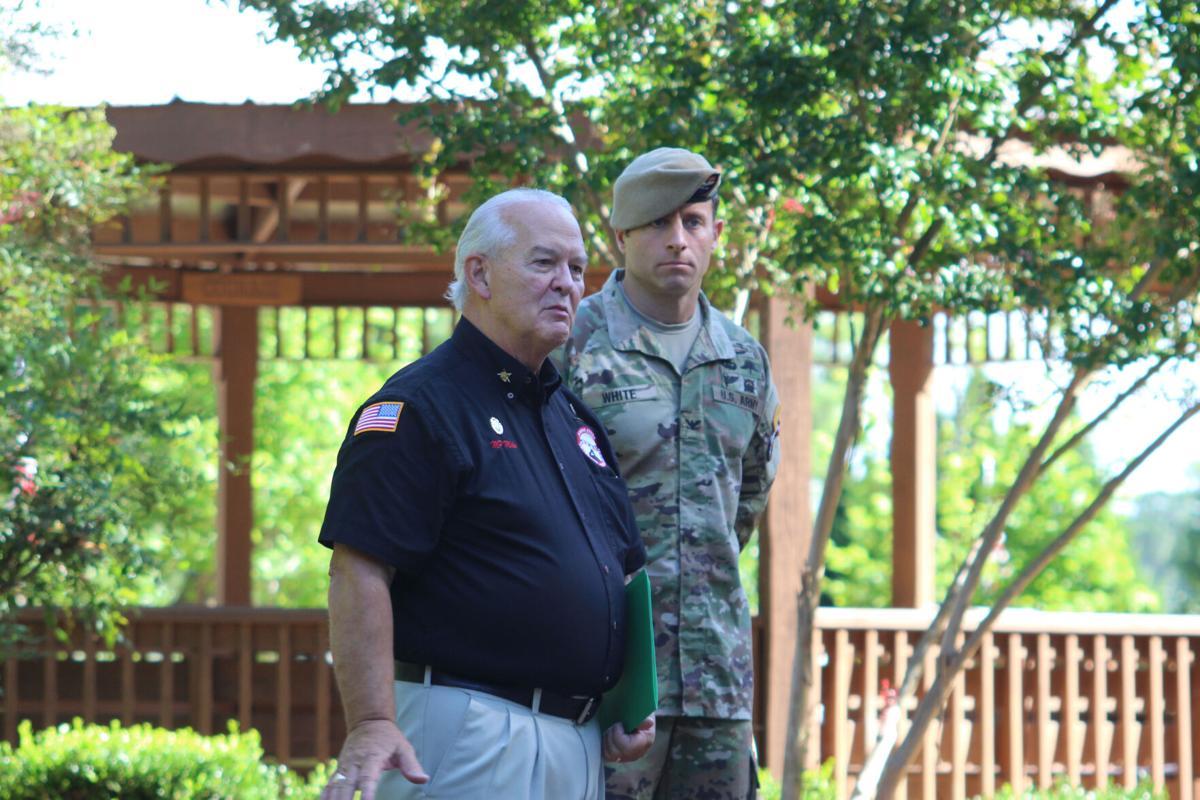 Johns Creek Veterans Association plaza dedication