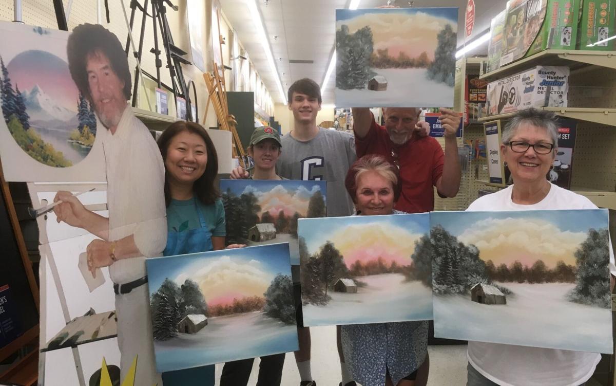 Jeremy Rogers teaches Bob Ross painting classes (5).jpg