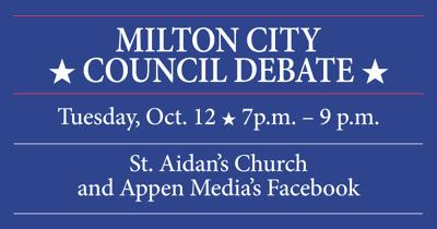 Milton City Council debate