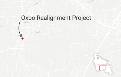 Oxbo Road Realignment project