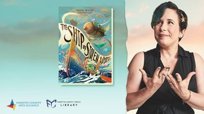 Author Fran Wilde and her latest novel, The Ship of Stolen Words