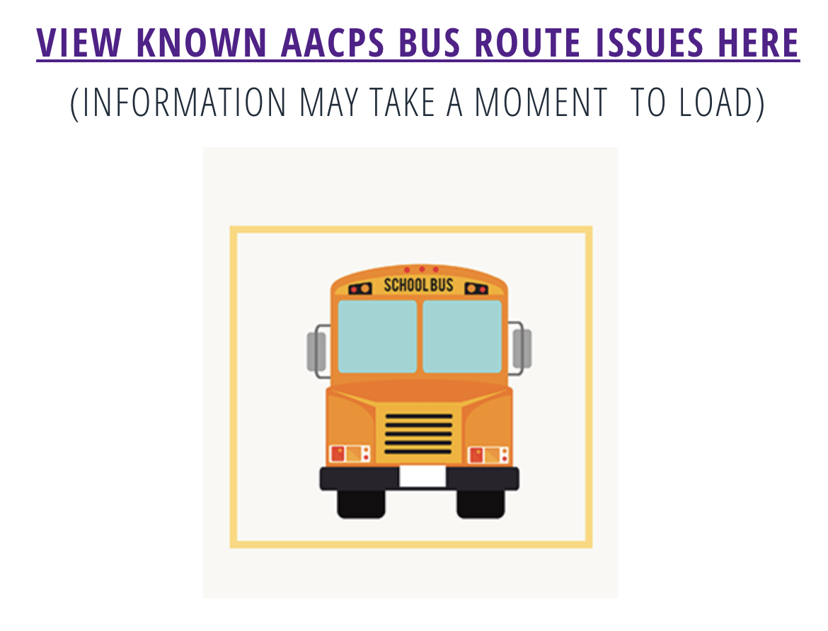 Bus Driver Shortage Affects Transportation For AACPS First Day
