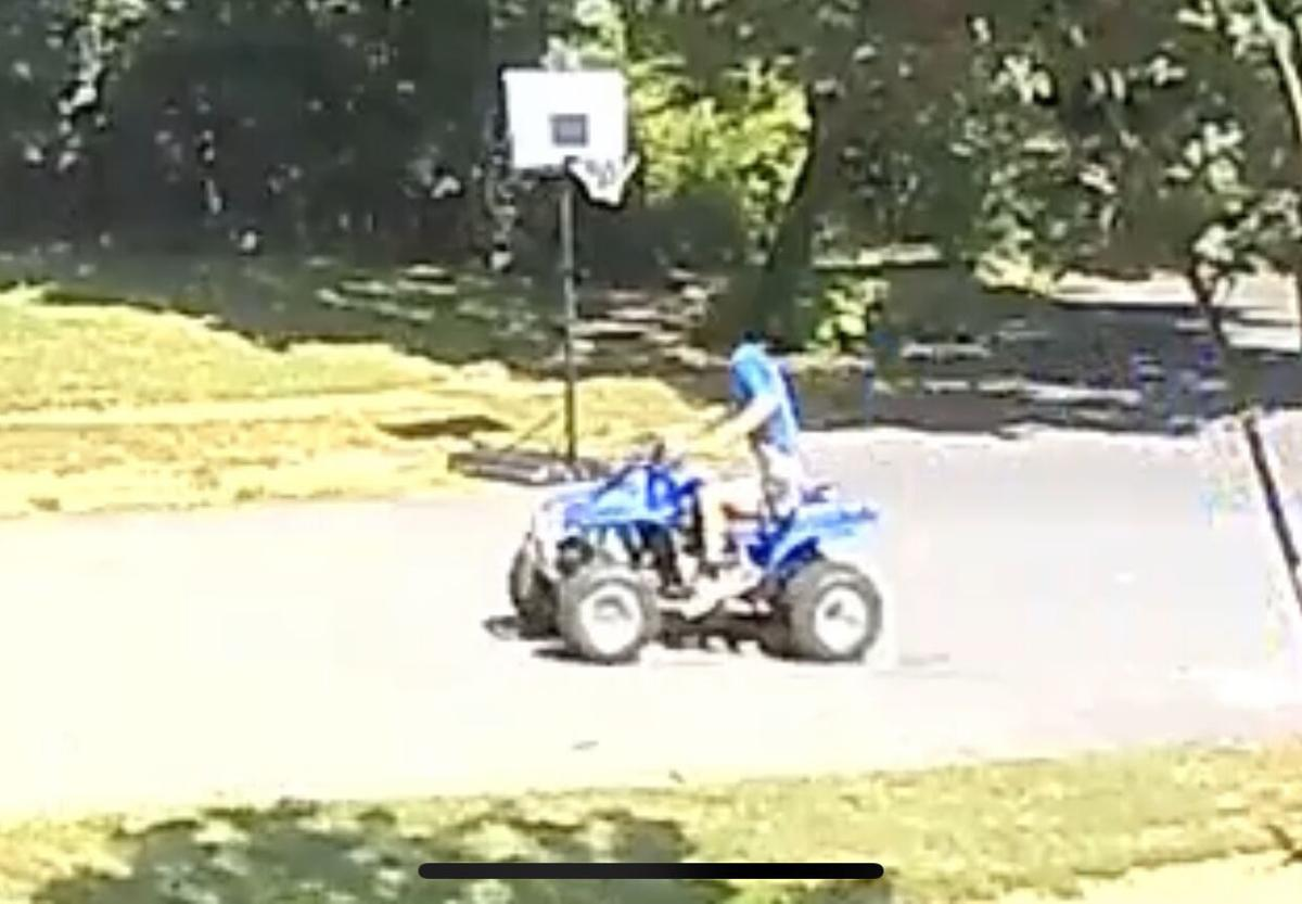 Suspect In ATV Hit And Run Driving With Shirt Over Head Seconds Before Crash