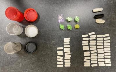 Crack Cocaine & Alprazolam Seized