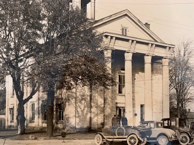 Ashland's first courthouse