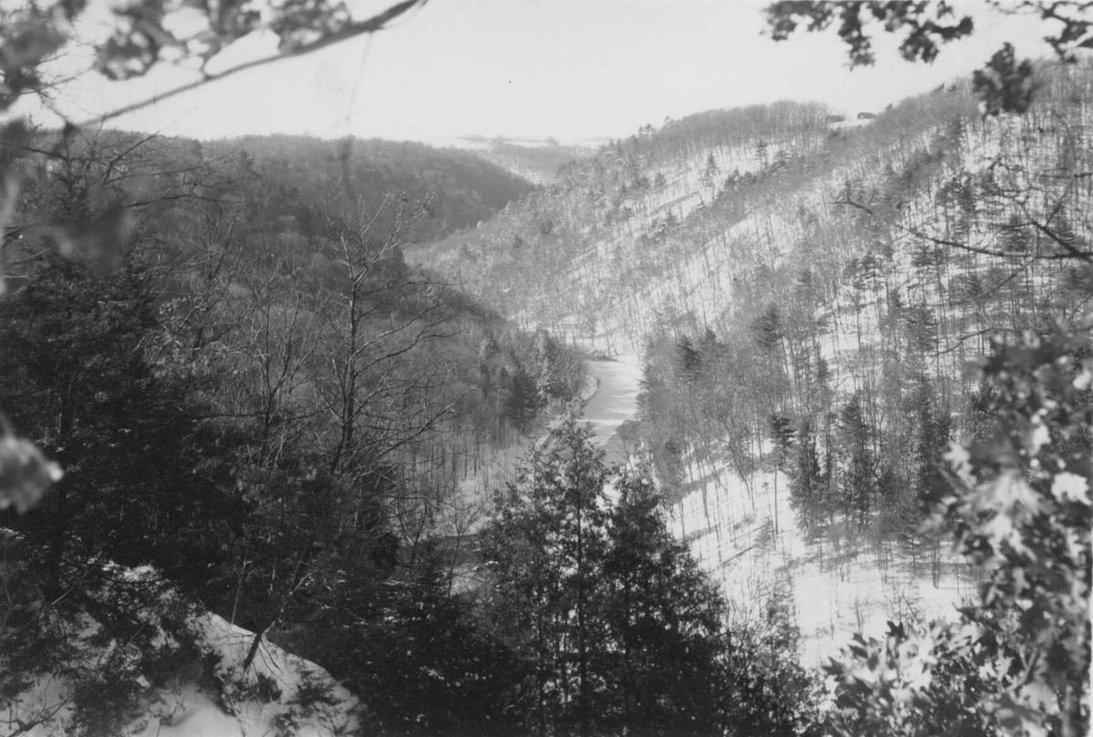 Clear Fork Gorge at Mohican Forest
