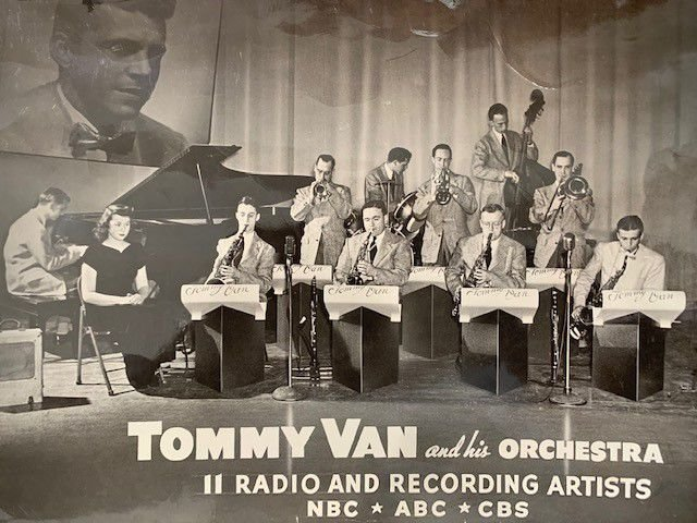 Tommy Van and his band