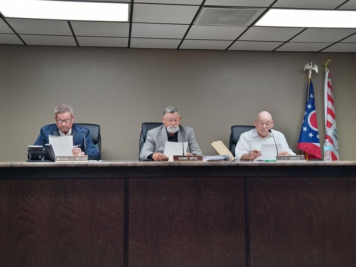 Ashland County Commissioners meeting