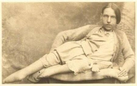 George Francis Eihinger as an adult