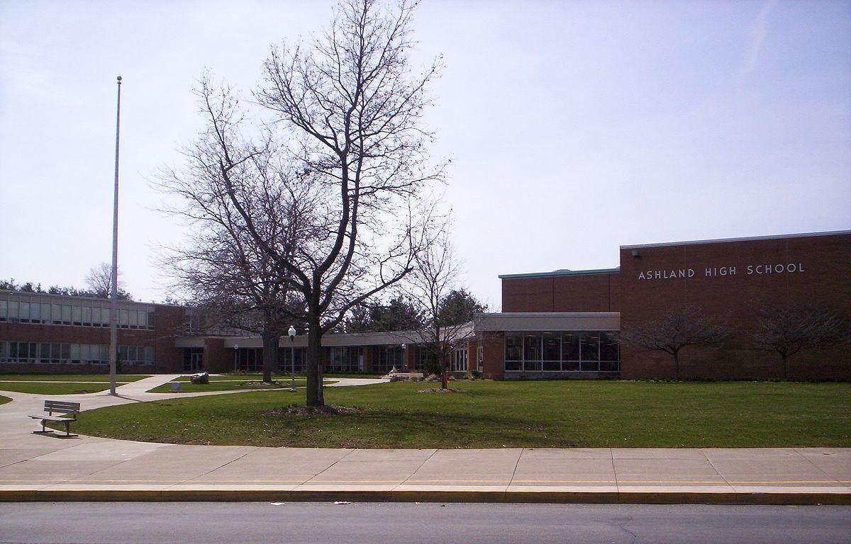Ashland High School building