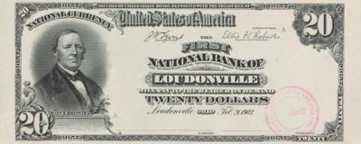 Loudonville currency