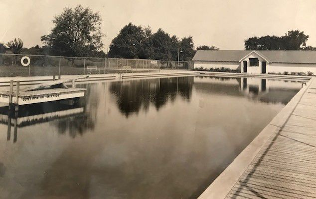 Brookside Pool in 1927