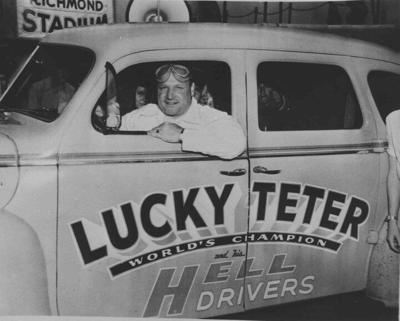 Lucky Teter promotion