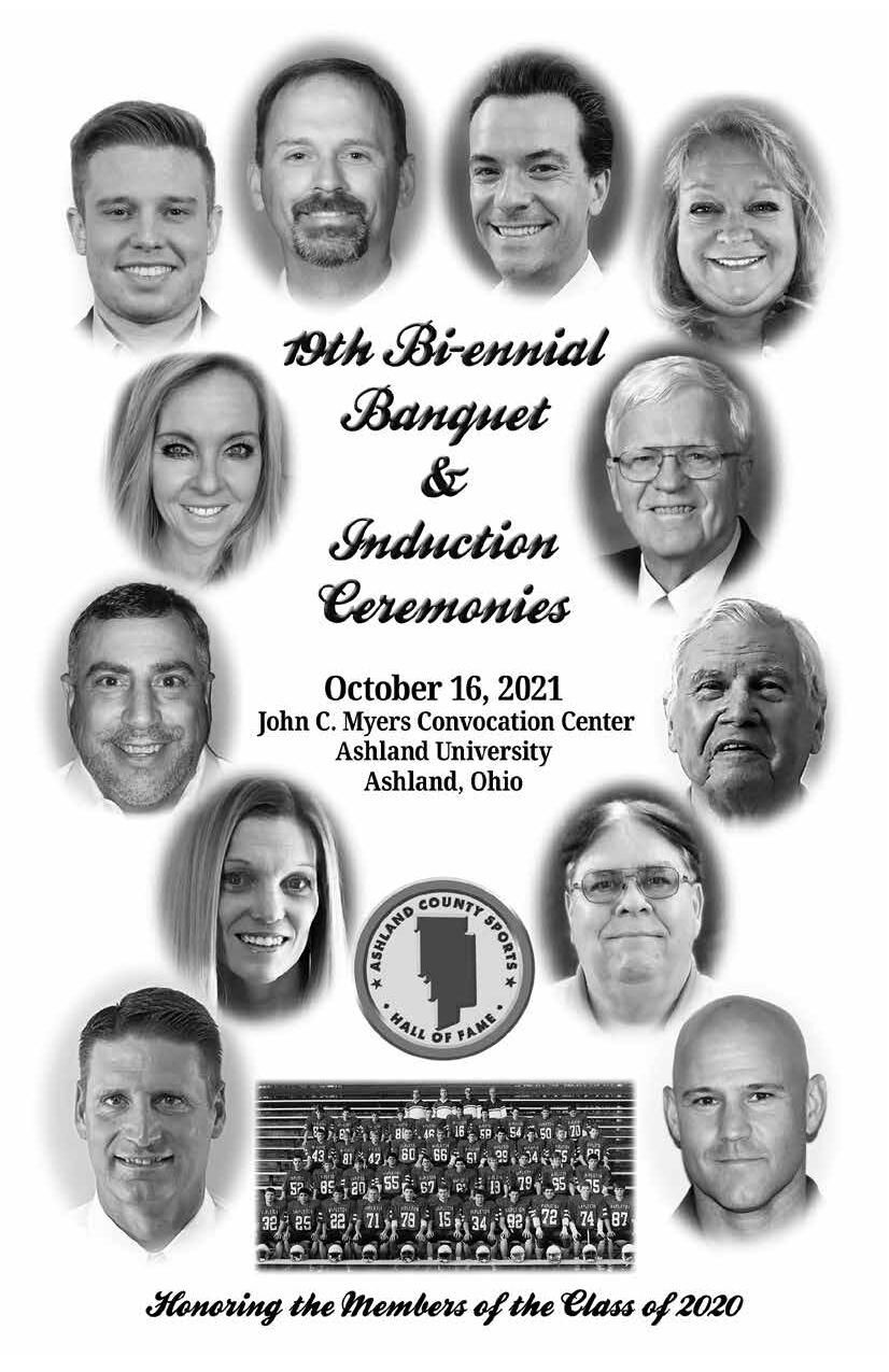19th annual induction of the Ashalnd County Sports Hall of Fame