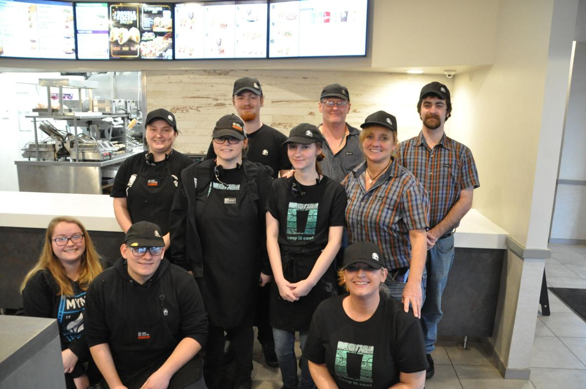 The Coshocton Avenue Taco Bell team