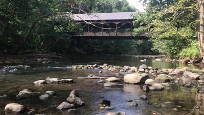 Covered bridge at Mohican