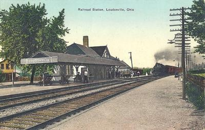 Loudonville railroad station