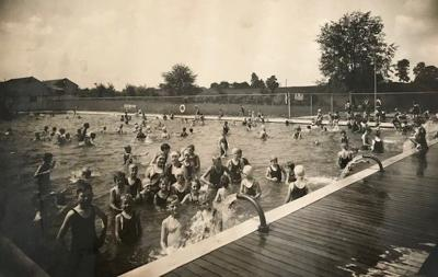 Brookside Pool in 1920s