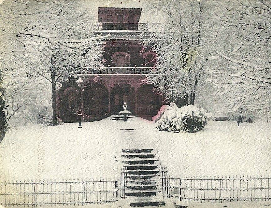 Mohican Manor in winter