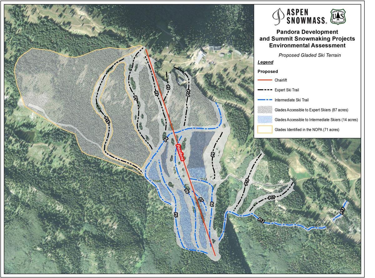 Final decision authorizes Pandora's, snowmaking expansion on Aspen Mountain
