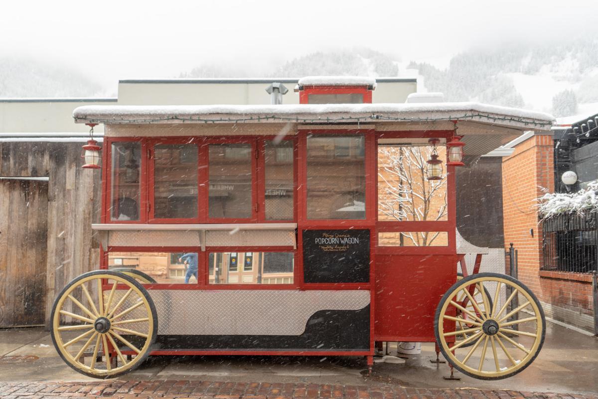 Popcorn wagon