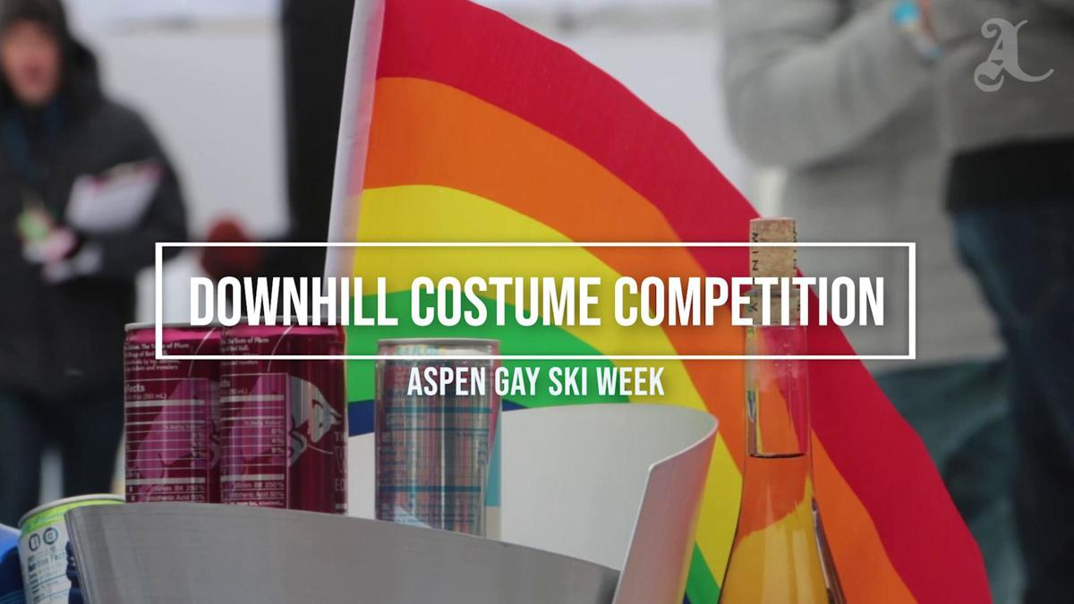 Video: Gay Ski Week Costume Competition