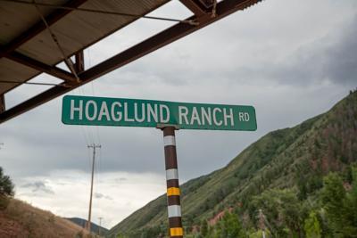 Hoaglund Ranch road