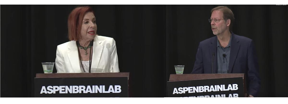Porterfield opens Aspen Brain Lab, expresses concern over higher ed