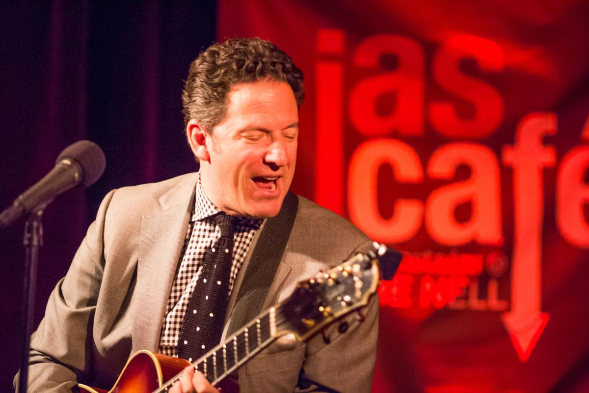 JAS Cafe' Downstairs at the Nell, John Pizzarelli, Aug. 15, 2014.