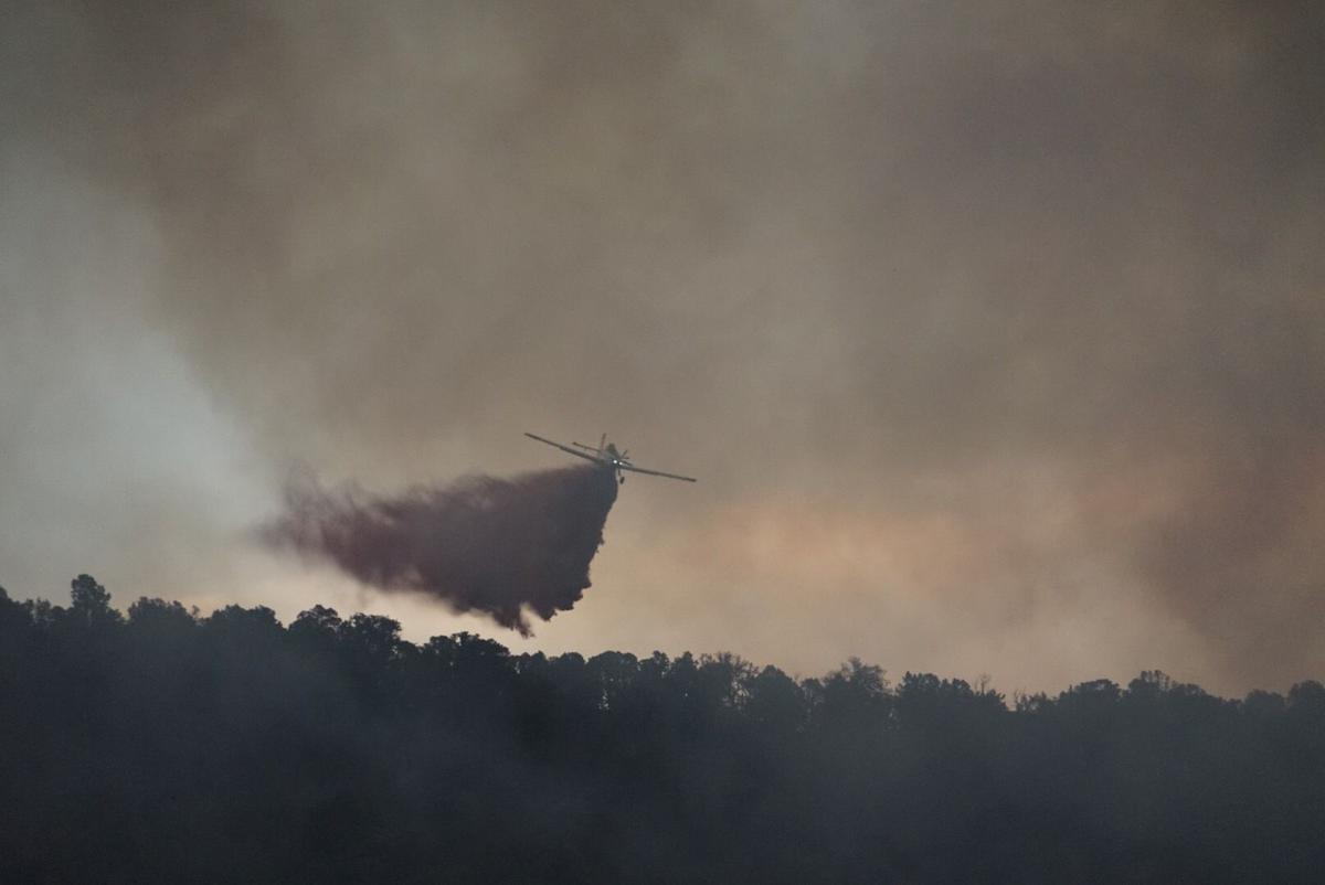 Basalt fire plane