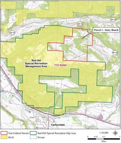 Sutey Ranch Parcel map