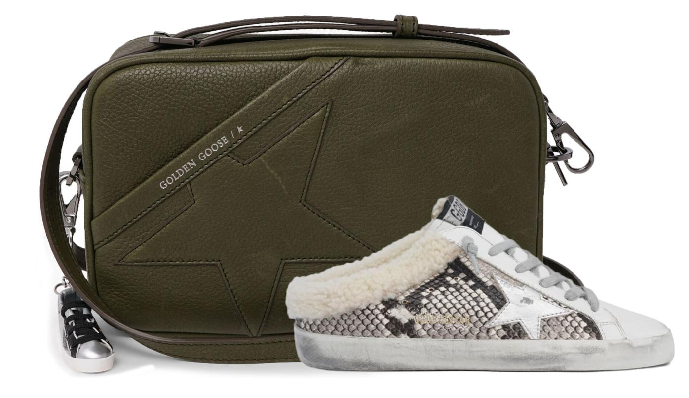Golden Goose Bag and Shoe