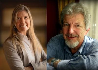 Lissa Ballinger and Mike Monroney
