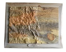Work of Leadville topographic carver spills into valley