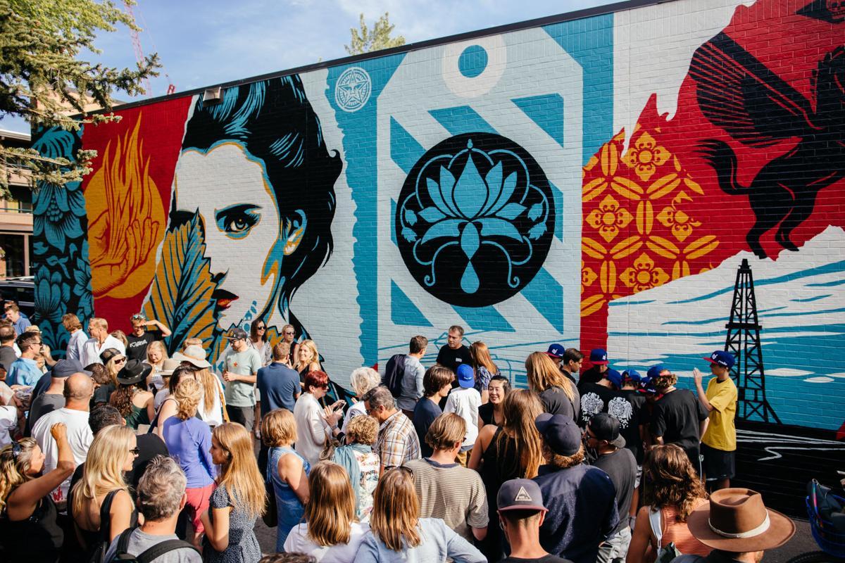 Fairey mural