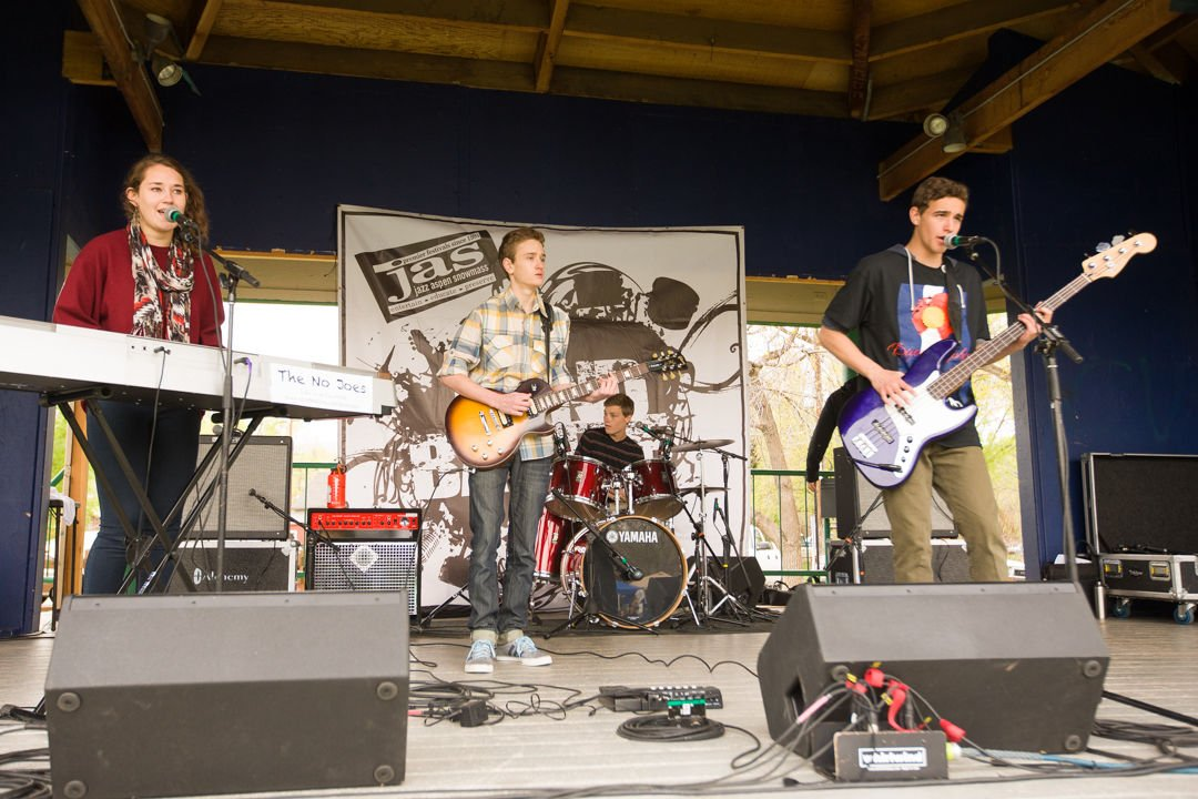 JAS, Jazz in schools, JAS Band Battle, The No Joes, May 10, 2014
