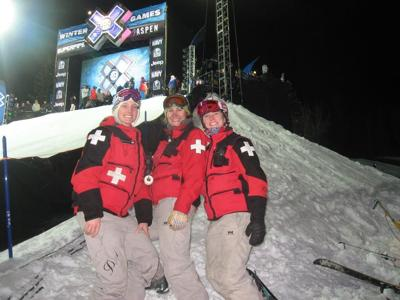 At the X-Games