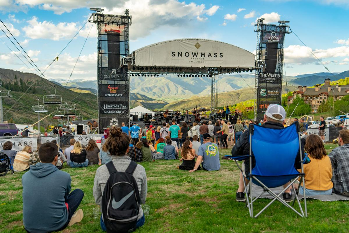 Snowmass crowd
