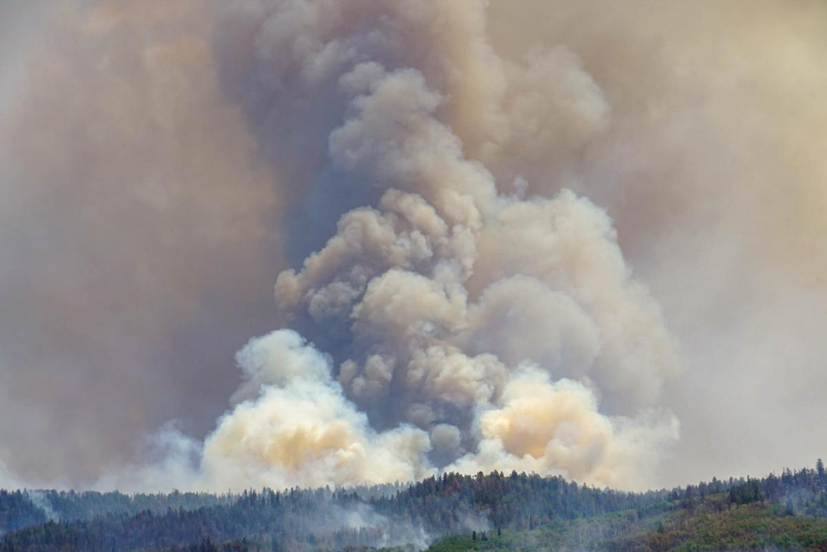 Lake Christine Fire now at 8,315 acres; public meeting planned for 6 p.m.