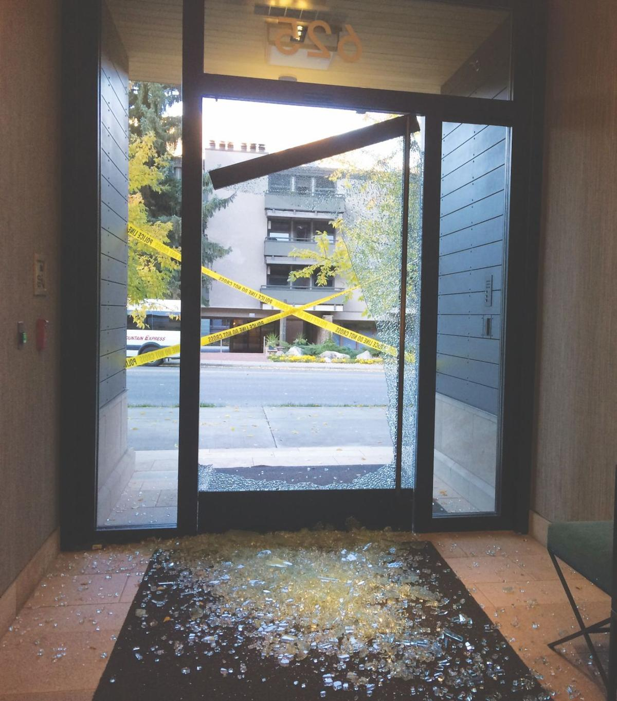 Man who shot out buildings glass door pleads guilty news glass door planetlyrics Choice Image